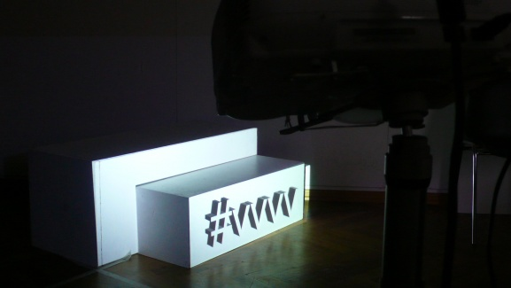 #vvvv projected onto a plain cube