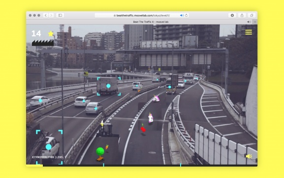 Playing Beat the Traffic X in desktop browser
