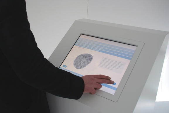Information kiosk for more detailed informations