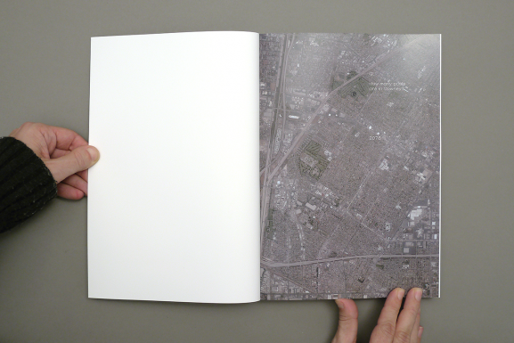 Aerial Imagery of the study area of the specific book, here Downey